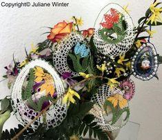 Information: Ausgabe / Issue 33 – Klöppeln mit Juliane Minis, Wreaths, Knitting, Halloween, Lace, Tenerife, Home Decor, Wood, Bobbin Lace