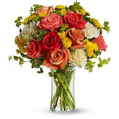 Citrus Kissed  Like freshly squeezed lemonade on a hot sunny day, this bright and cheerful bouquet is a summer sensation.