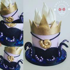 Little Mermaid Cakes, Little Mermaid Birthday, Little Mermaid Parties, Disney Birthday, Baby Birthday, Birthday Ideas, Pretty Cakes, Cute Cakes, Beautiful Cakes