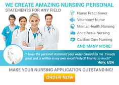 HI Friends  Do you need Nursing Personal Statement service. This is very easy process through online.  How It Works _-__--__--__--__--__--__--__ =    Attach Your Resume =    Talk to the Writer =    Review First Draft =    Share Your Comments =    Receive Final Statement. It will be very helpful when you will visit there service.