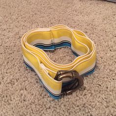 JCrew Belt Like new condition. JCrew tag is frayed at the bottom. Worn maybe 2 times. J. Crew Accessories Belts