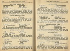 Let's step back in time, into the I found some wonderful cake and frosting recipes. Everything is from scratch, including the frosting! Impress your family and friends with a delici… Retro Recipes, Old Recipes, Vintage Recipes, Cookbook Recipes, Cooking Recipes, Cooking Ideas, Recipies, Healthy Recipes, Frosting Recipes