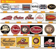 OLD-RIDER-GARAGE.com - Carteles Antiguos