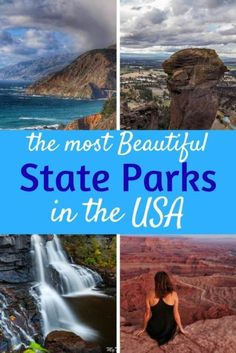 With more than 10,000 state parks across the US to choose from, it can be hard to decide where to go for your next adventure. We\'ve made it easier for - these are the best state parks in the USA. #camping #hiking