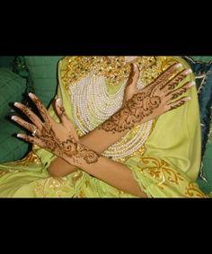 bride's henné