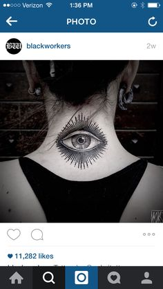 Eye on the back