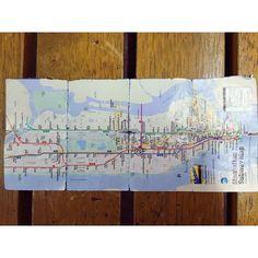NYでお世話になりまくった路線図 使いまくってボロっボロ #newyork#manhattan#subwaymap#everydayweused#wornout #台湾では龍平が#NYでは私が #アンダーグランドスタッフ笑 #localとexpress何度も乗り間違えたり #まいまい閉め出されたり #思い出たくさんの地下鉄 毎日が慌しく過ぎていく一向に写真整理できぬ by sakipoyoooo via Instagram w/ifttt