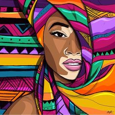 Best 12 Melanin To Boot. Contemporary African artworks by emerging African artists. Paintings, digital art and illustrations – SkillOfKing. African Drawings, African Art Paintings, Arte Pop, Afrique Art, Black Art Painting, Mini Canvas Art, African American Art, American Women, Art Drawings Sketches