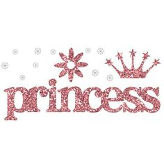 Glitter Bling Words Princess by Making Memories