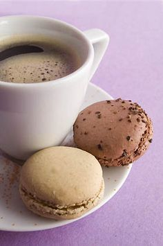 coffee + macaroons // aka perfection