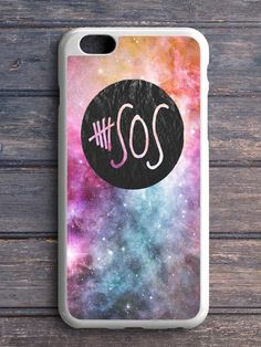 5 Second Of Summer Logo Galaxy iPhone 5|C Case