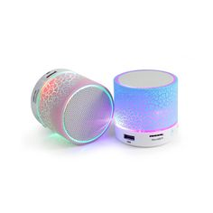 KAGGA Fashion Portable Bluetooth Rechargeable Speaker