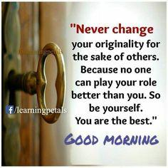 Good Morning ☀️