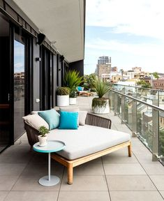 #Contemporary #Apartment Cute Contemporary Balcony