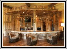 """Decor Facelift Decor Facelift """"Thirsty Thursday"""": FOR THE RUSTIC-RANCHY TYPE..."""