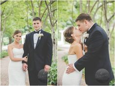 Bride and Groom Pose | Weller's Saline | E Schmidt Photography | Metro Detroit Wedding Photographer