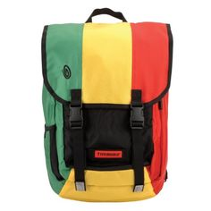 Timbuk2 Swig Laptop Backpack (Emerald/Reso Yellow/Bixi Red, Small)    - Click image twice for more info - See a larger selection of yellow  backpacks at http://kidsbackpackstore.com/product-category/yellow-backpacks/ - kids, juniors, back to school, kids fashion ideas, teens fashion ideas, school supplies, backpack, bag , teenagers girls , gift ideas, yellow