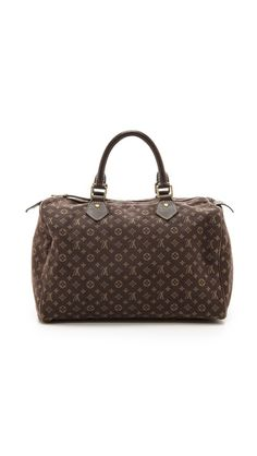 What Goes Around Comes Around Louis Vuitton Mini Lin Speedy Bag