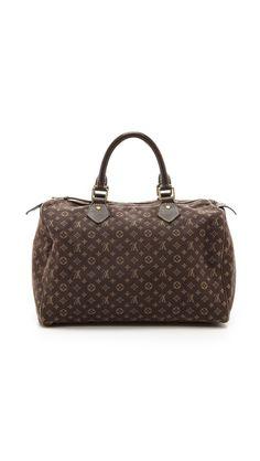 What Goes Around Comes Around Louis Vuitton Mini Lin Speedy Bag