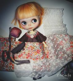 https://flic.kr/p/xzQhd5 | New dress ! I will make a donation for BlytheCon Chicago - Autumn 2015 and this is the first one, I will sew it this week-end. ;)