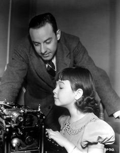 Jane Withers gets some pointers from Lamar Trotti, writer of four of her vehicles Classic Hollywood, Old Hollywood, Jane Withers, Star W, Pre Code, Gary Cooper, Hollywood Actresses, Vintage Children, Talk To Me