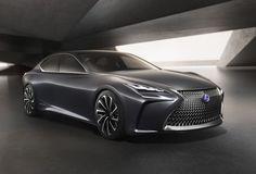 Lexus LF-FC : la berline de luxe du futur