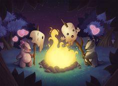 1600x1176_5705_Badger_Date_2d_illustration_forest_campfire_badger_marshmallow_fantasy_love_picture_image_digital_art.jpg (1600×1176)