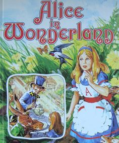 Alice in Wonderland - Children's Picture Storybook - a Golden Book (Large) by OfftheShelf2015 on Etsy