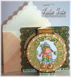 Scor-pal: Happy Harvest card by Scor-pal Designer Katie Tate