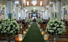 decoracao da igreja no casamento - Google Search