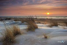 """Winter at the Beach"" Tawas Point State Park - East Tawas, Michigan  (Lake Huron)"