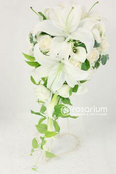 No.f0151・ウエディングブーケ(生花) | rosarium