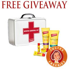 Free Carmex Winter Survival Kit Giveaway