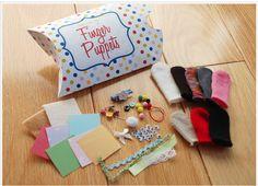 Fun & Frugal Gift Idea: Finger Puppet Kit