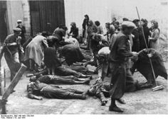 The NKVD prisoner massacres were a series of mass executions committed by the Soviet NKVD secret police against prisoners in Eastern Europe during World War II, primarily Poland, Ukraine, the Baltic states, Bessarabia and other parts of the Soviet Union from which the Red Army was withdrawing ahead of the German invasion in 1941.