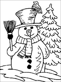 Cute Snowman Coloring Pages Ideas For Toddlers - Free Coloring Sheets Snowman Coloring Pages, Printable Christmas Coloring Pages, Disney Coloring Pages, Coloring Pages To Print, Free Printable Coloring Pages, Coloring Book Pages, Coloring Sheets, Coloring Pages For Kids, Free Coloring