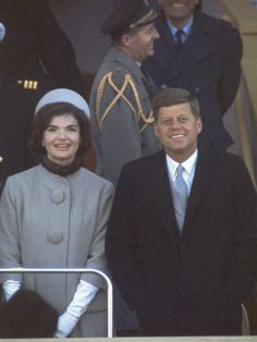 The Inauguration.. I was marching in the SJHS band and waved to him.. Amazingly, he and Jackie waved back.