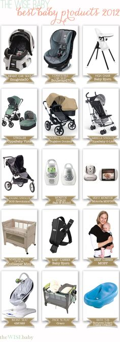 Our Best Baby Products 2012 - 2013 edition coming in a few weeks, who will make the list?!?