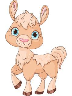 Cute Llama Icon