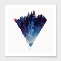 """Near to the edge"", Numbered Edition Fine Art Print by Robert Farkas - From $25.00 - Curioos"