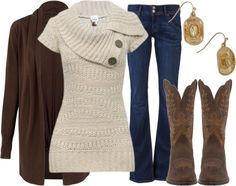 """Cozy Goes Country"" by qtpiekelso on Polyvore"