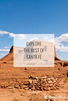Explore top things to do in Santa Fe, New Mexico. New Mexico Vacation, New Mexico Road Trip, Need A Vacation, Mexico Travel, Vacation Spots, Europe Travel Tips, Travel Usa, Europe Packing, Traveling Europe