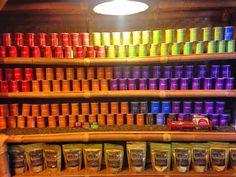 Colour in jar
