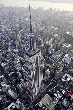 Great view of the Empire State Building, New York City, USA, #architecture