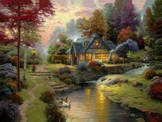 Maher Art Gallery: Thomas Kinkade