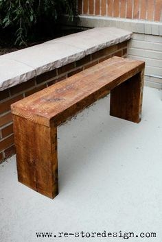 Easy Diy benches