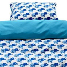 Blue Elephant Bedding (Single Bed) - Scandicool - Scandinavian gifts, homewares and clothing