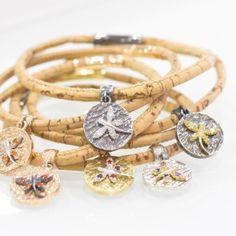 Gioielli in sughero fatti a mano Handmade Cork Jewels