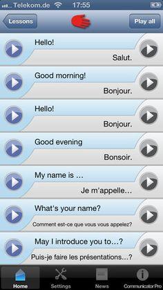 iSayHello Communicator Pro-Translate words, whole sentences, hear them spoken #iPhone #iPad #Travel #Apps