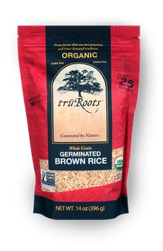 packaging - Organic Germinated Brown Rice